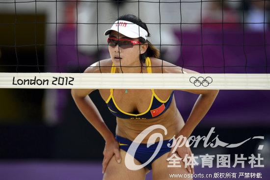 薛晨 沙滩排球世界级运动员-港媒评中国体坛十大美女 惠若琪易思玲上