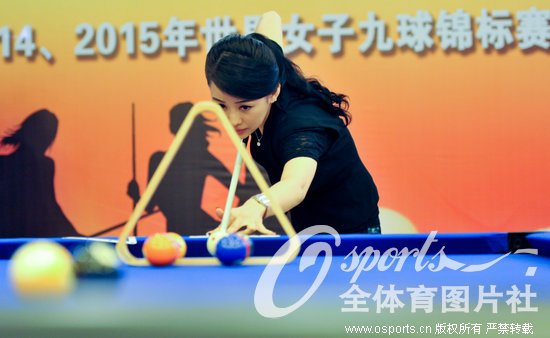 世界女子9球锦标赛落户桂林 潘晓婷助阵奉献精彩花式表演