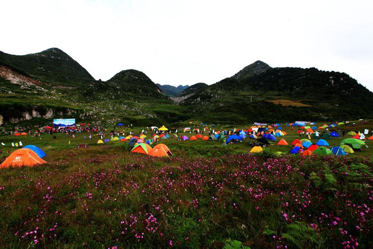 贵州户外运动发达,有很深厚的露营活动基础
