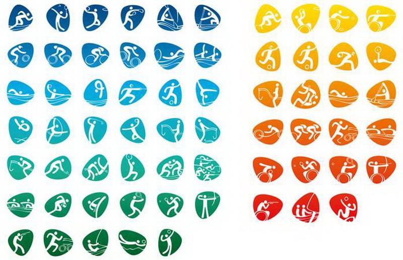 体育图标_体育运动图标集