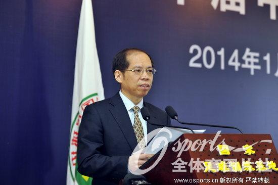 张剑:曾任国家体育总局政策法规司司长,现任国家体育总局足管中图片