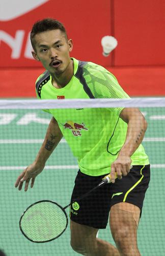 组图 汤姆斯杯 中国队5 0胜中华台北晋级八强 高清图片