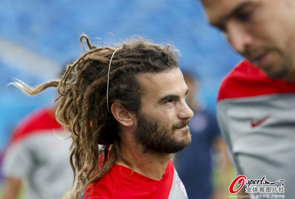 高清:盘点巴西世界杯上的个性发型图片