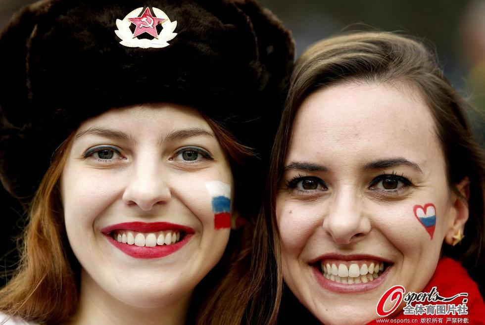 俄罗斯美女球迷