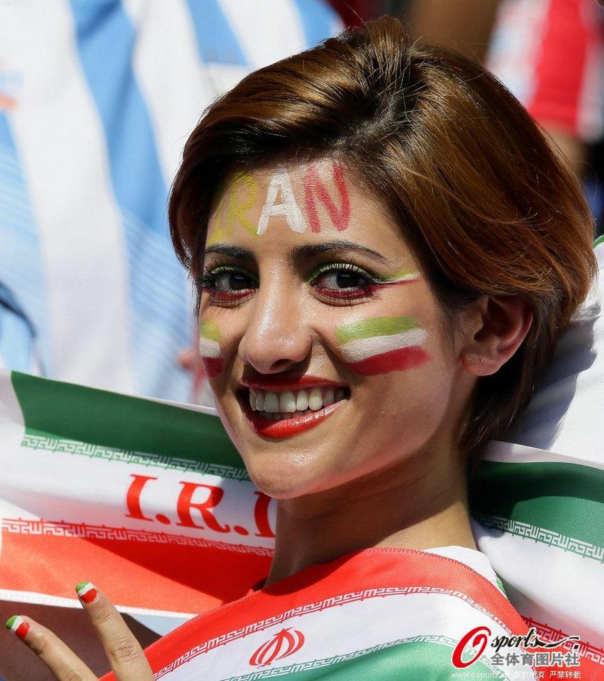 伊朗美女球迷
