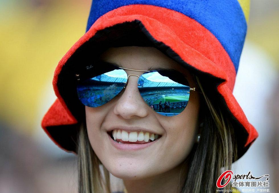 哥伦比亚美女球迷