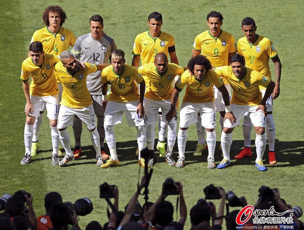 巴西队阵容 2015巴西队阵容 2014巴西队阵容图片