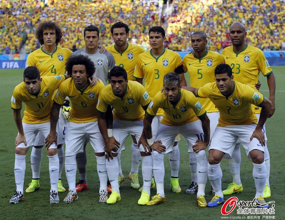 巴西队阵容图片
