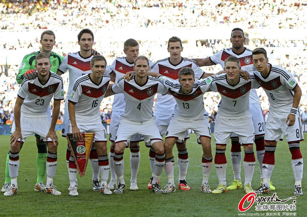 德国队首发阵容图片