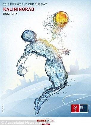 2018年世界杯举办城市海报公布 喀山索契位列其中