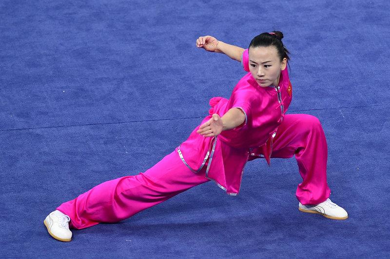 高清:亚运武术女子长拳 中国选手阚文聪夺得冠军- Micro Reading