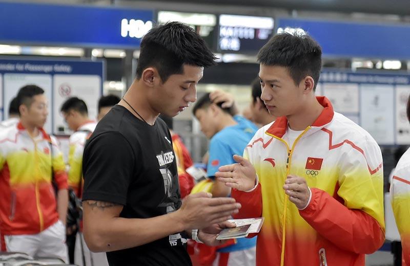 刘国梁踏上中国乒乓队率领仁川亚运征程打网球怎么读图片