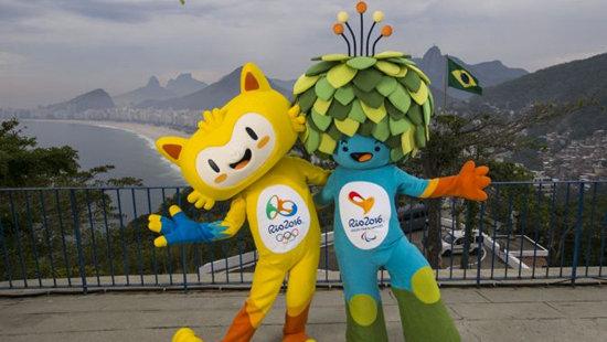 里约奥运会和残奥会吉祥物揭晓图片