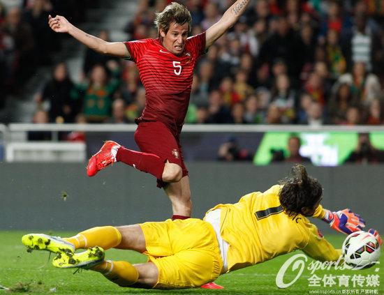 欧预赛-皇马飞翼传射 葡萄牙2-1升至榜首