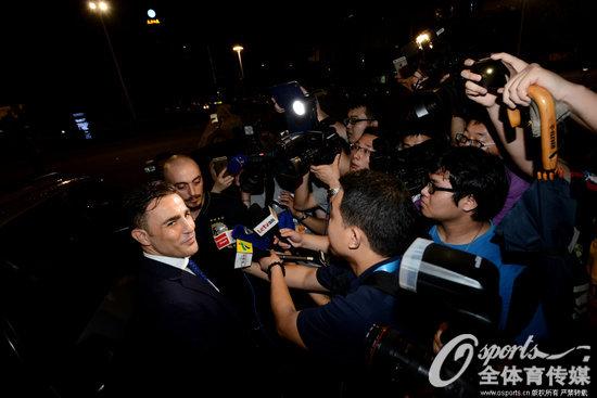 卡纳瓦罗接受媒体采访