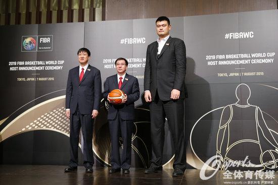 中国获得2019年男篮世