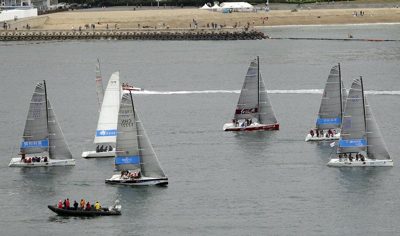 中国环渤海帆船拉力赛落下帷幕青岛帆协队夺得总冠军