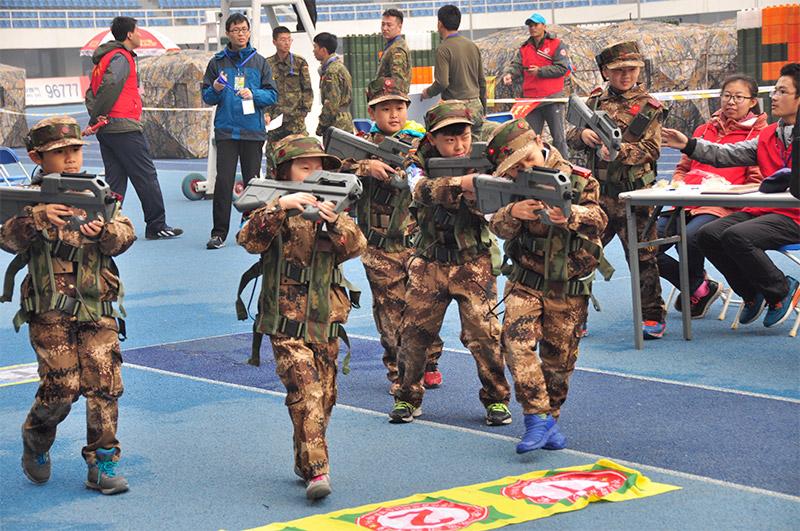 视频:小战士亮相中国野战v视频冠军赛-Micro高清王维玲图片