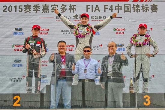 2015F4收官战第二回合:刘凯赛季