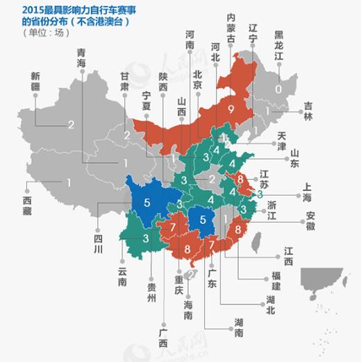 地图(按省份分布)