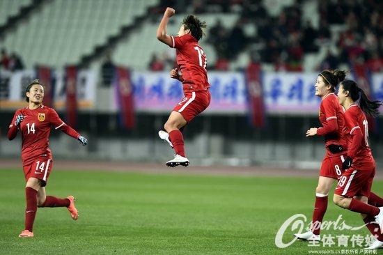 女足奥预赛-王霜补时点杀救主中国1-1逼平朝鲜
