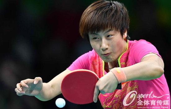 乒乓球女单丁宁4-3胜李晓霞夺冠摘得中国第10金