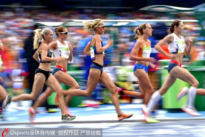 高清:里约奥运会女子10000米 阿亚娜破世界纪录夺冠