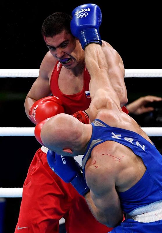 哈萨克斯坦选手列维特,夺得冠军. 新华社记者蔺以光摄-高清组图 图片