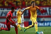 世预赛国足2-3惜败韩国