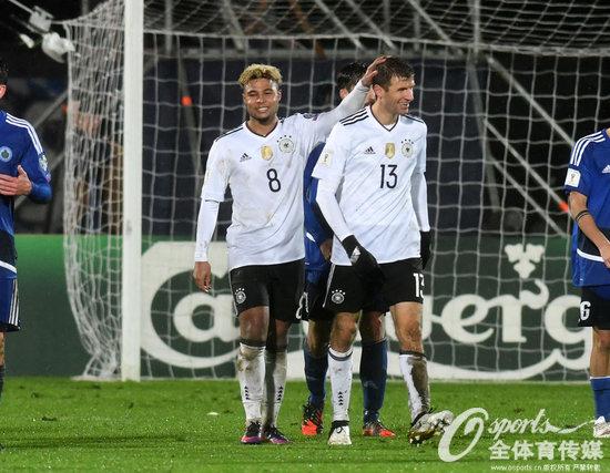 世初赛-德国客场8-0狂胜圣马力诺持续小组发跑
