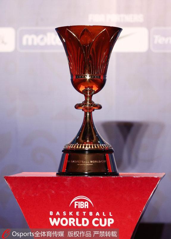2019男篮世界杯奖杯