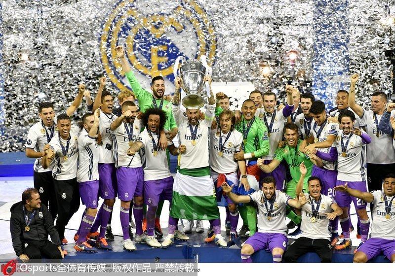 2016/17赛季欧冠联赛决赛在威尔士卡迪夫千年球场打响,尤文图斯对阵皇图片