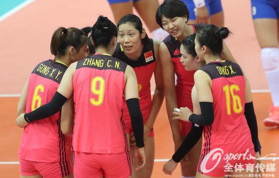 中国女排3-0取得巴西大奖赛总决赛完胜开门红腿亲女生图片