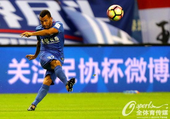 2017年8月2日,2017年足协杯1/4决赛次回合前瞻,上海申花vs山东鲁能。