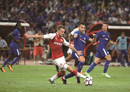 伦敦超级德比:开启鸟巢国际足球赛事新征程