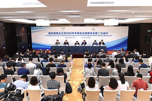 国际奥委会再赞中国冬奥筹备效率