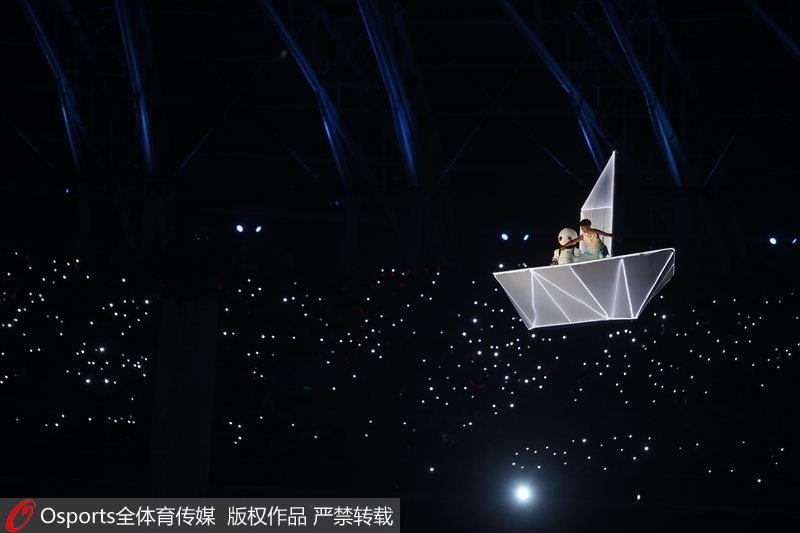 高清:第十三届全运会开幕式 文艺演出展现天津之美