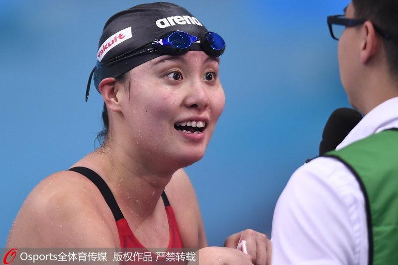预赛:傅园100米v预赛高清全运慧采访接受变有钱搞笑图图片