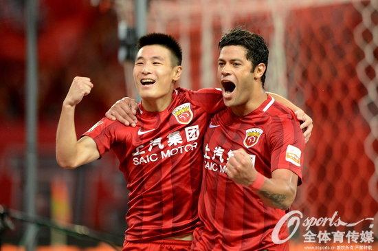 2017年9月16日,2017年中超联赛第25轮:上海上港6:1胜上海申花 。