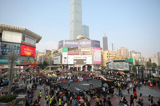特步热炼工场引领中国街头运动新玩法