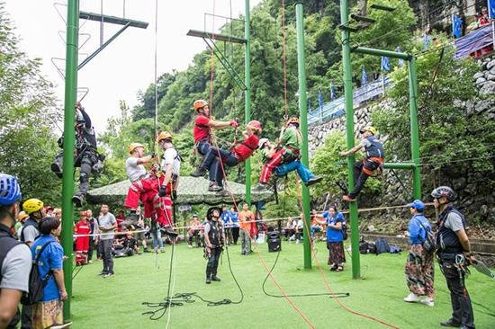 2017年国际山地救援交流活动将在贵州安龙举办春玉手
