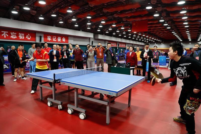 北京全民健身乒乓球邀请赛落幕爱心捐助特困儿童获点赞