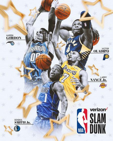 NBA公布2018年全明星赛扣篮大赛名单