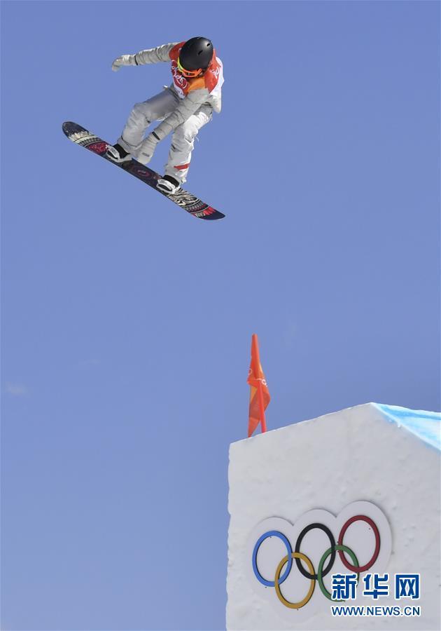 2月12日,美国选手杰米·安德森在比赛中。