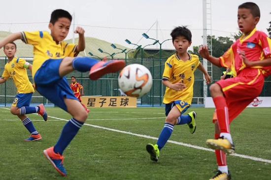 中泰青少年足球邀请赛开幕U12成绩最好者获麒麟杯外卡