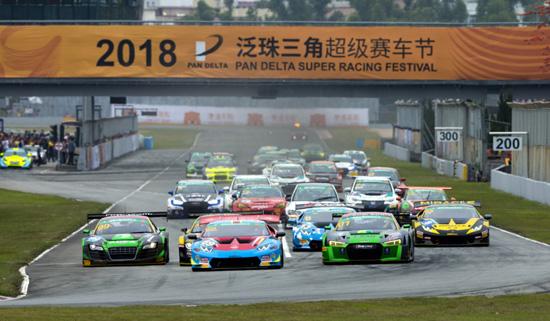 2018泛珠超级赛车节(春季赛)竞争激烈