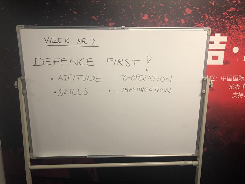 昆仑鸿星训练营Day8:两组合练 塔波拉强调防守