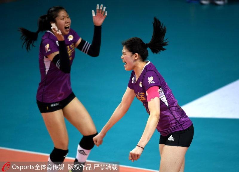 天津队赢下最后一分