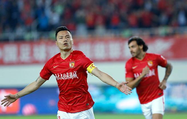 高清:中超郜林头槌破门 恒大1-0送鲁能两连败