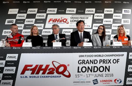 世界摩托艇伦敦大奖赛6月开战